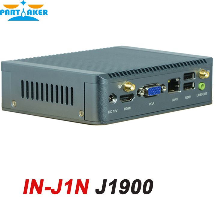 8G RAM only Bay Trail Nano ITX Fanless Portable Embedded PC with Intel Celeron Quad Core J1900 IN-J1N