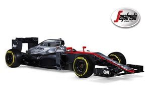Dnes byly odhaleny první oficiální snímky vozu týmu McLaren Honda Mp4-30, jehož je naše společnost Segafredo Zanetti od loňského roku opět partnerem.