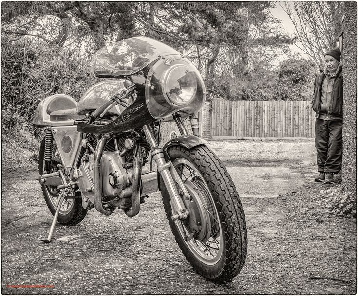 A Bloke and his Bike - Colin and his Egli Vincent