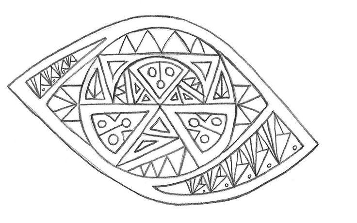 diseño alternativo ojo geometrico