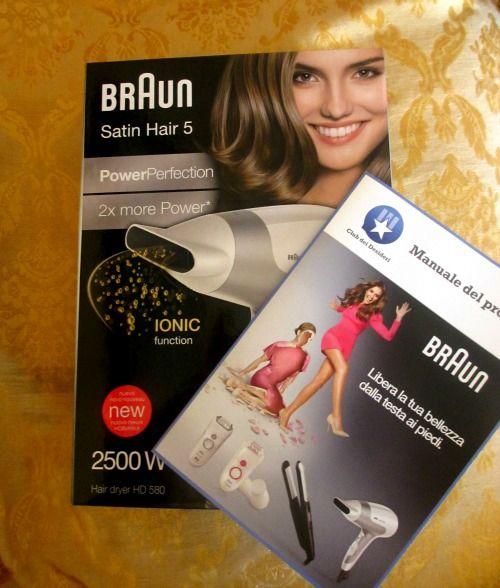 DI TUTTO UN PO': ASCIUGA CAPELLI BRAUN SATIN HAIR POWERPERFECTION H...