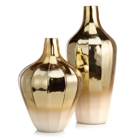 Ovation Vase From Z Gallerie Vase Gold Home Decor