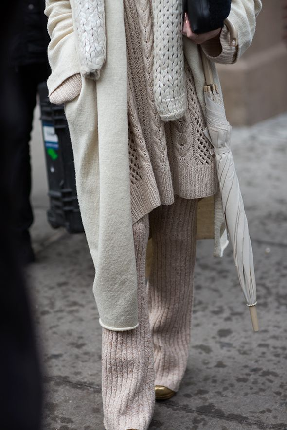 All knitted. #style