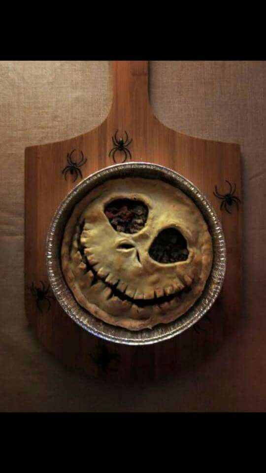 Jack Skellington pie - cool