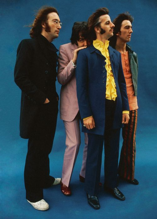 Beatles: The Beatles, George Harrison, Beatles Stuff, Ringo Starr, Paul Mccartney, Bright Colour, Beatles 1968, Beatles Mania, John Lennon