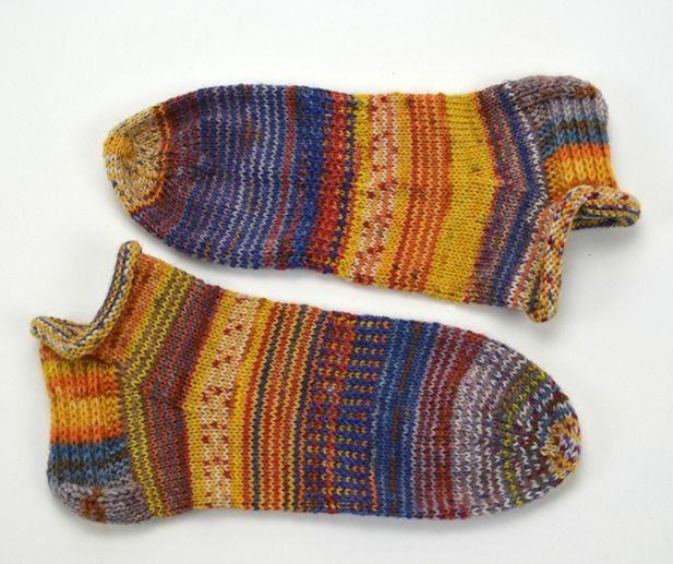 Blog über Socken stricken, Wolle färben und spinnen
