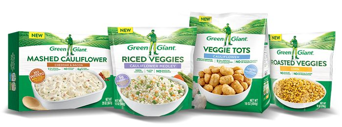 have yall seen these in the store yet?  I'm excited! I love cauliflower rice and mashed potatoes, I'm just too lazy to make them.   Makes low carbing so much more interesting.  mw