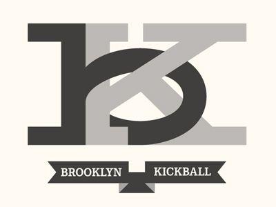fits so nice. must be the friendliest kickball league ever!Design Shared, Kickball Logo, Logo Design, Logos Design, Brooklyn Kickball, Friendliest Kickball, Entrepreneur Fonts Logo, Design Connection, Brochures Design