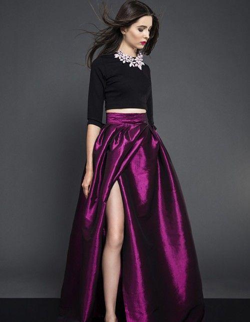 Spódnica wieczorowa z tafty | Kasia Miciak design | SHOWROOM