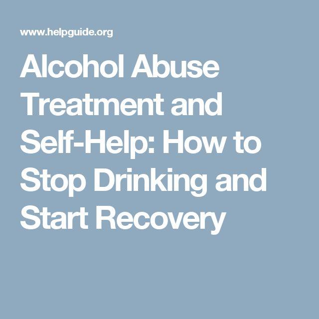 alcohol addiction self help