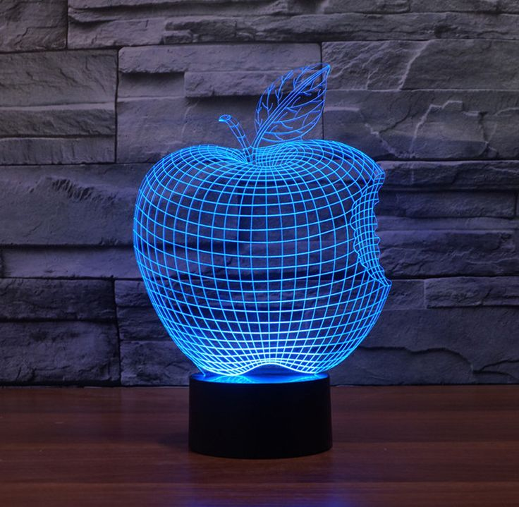 The new Apple colorful lights LED acrylic