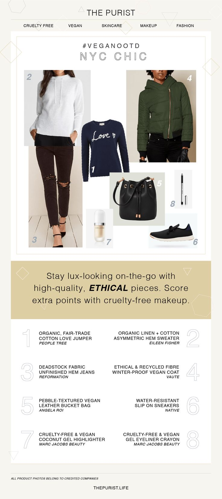 NYC Chic   Vegan Fashion   Vegan Shoes & Bag   Three Vegan Outfits for Winter that are Stylish AF - The Purist Life