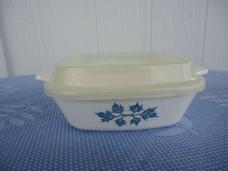vintage retro corning ware pyroflam pf-40 netherlands petite pan casserole dish