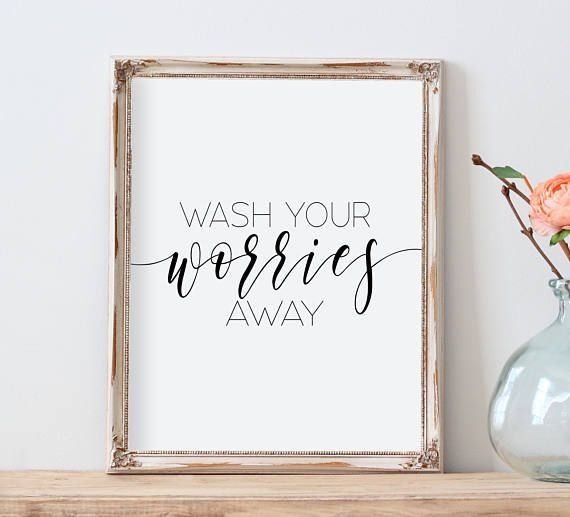 Fit Crafty Stylish And Happy Guest Bathroom Makeover: Best 25+ Bathroom Quotes Ideas On Pinterest