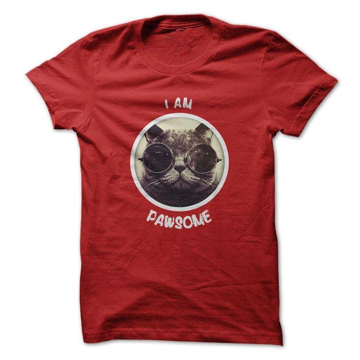 I'm Pawsome T Shirt, Hoodie, Tee Shirts ==► Shopping Now!