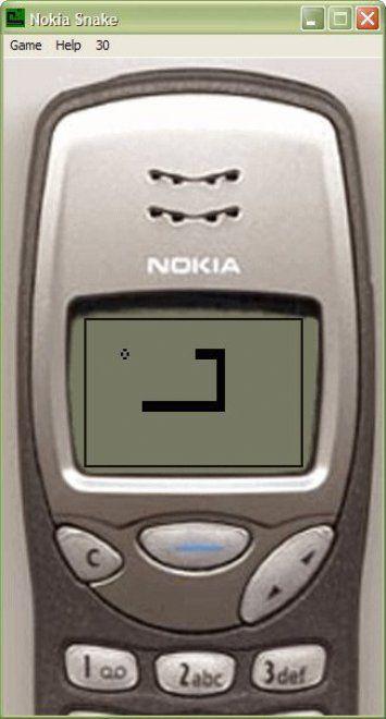 Nokia 3310 e il gioco 'Snake'