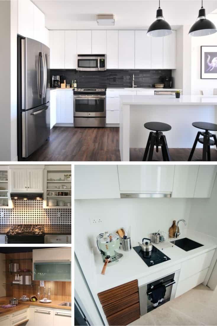 Minimalist Kitchen Design For Small Spaces With Images Small Kitchen Inspiration Minimalist Kitchen Design Home Decor Kitchen