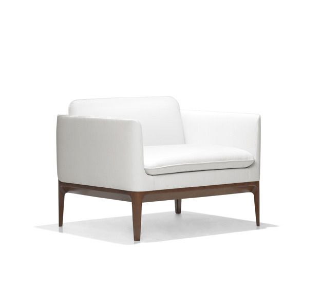 Atlantic is all about the details. From its beveled solid wood frame to the artfully thin upholstered arms and back and its loose seat and cushion, Atlantic exudes refinement and thoughtful design.,Atlantic, Bernhardt Design, Atlantic, Culdesac, Contemporary, Chair, Lounge,Chair, Club