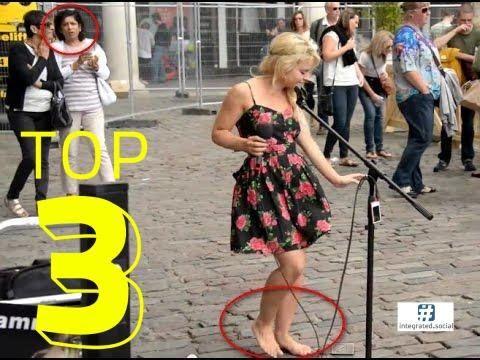 Barefoot Street Performer SHOCKS Audience Amazing Street Performance Mus...