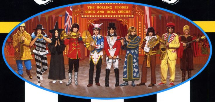 detail from cover of quotthe rolling stones rock and roll