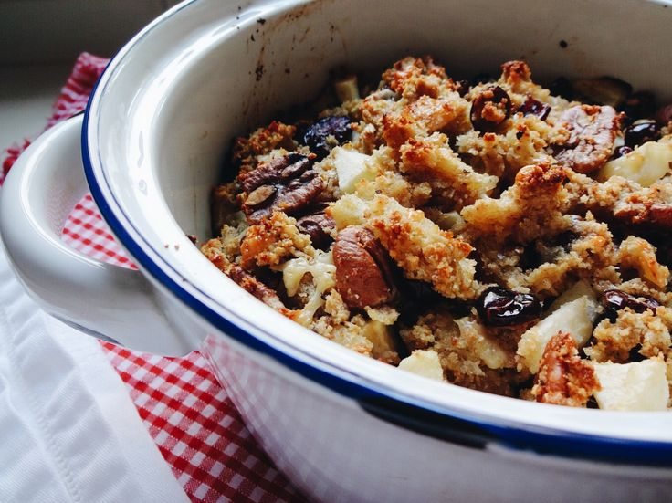 Pecan & Cranberry Stuffing for #thanksgiving