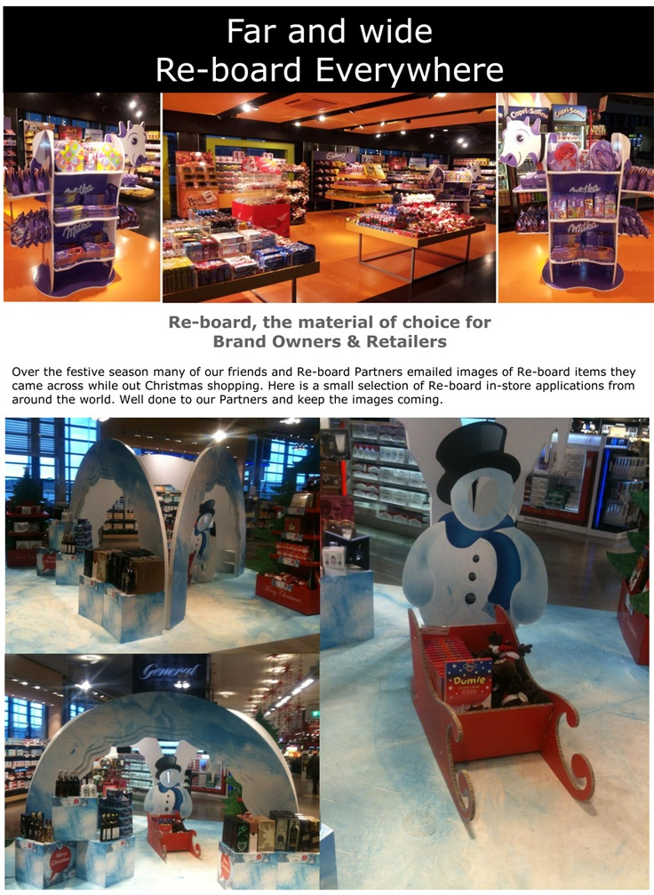 Re-board® Store & Retail Display
