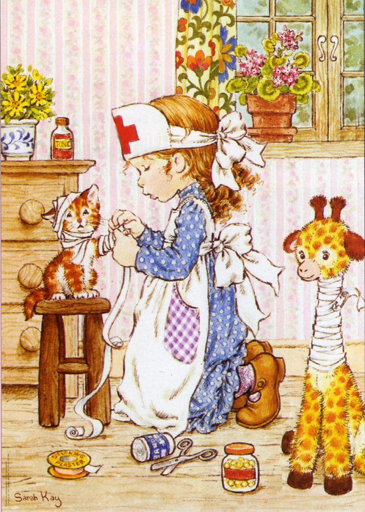 Sara Kay y sus mascotas