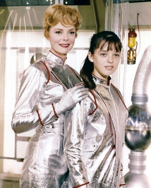 June Lockhart and Penny Robinson, Lost in Space