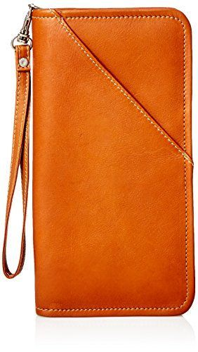 Piel Leather Executive Travel Wallet, Saddle, One Size Pi  Gift for friends who travel frequently.  They love it and it arrived by the expected delivery date.