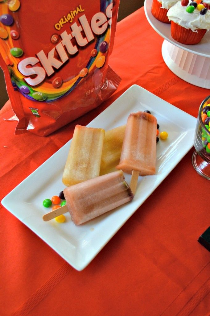 Skittles Popsicles Recipe For Basketball Game Day - FAB Haute Mama™ - Official Blog