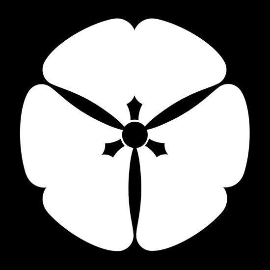 村山片喰 むらやまかたばみ Murayama katabami The design of three leaves of Murayama sorrel.