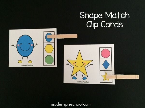 76 Best Shape Printables And Activities Images On
