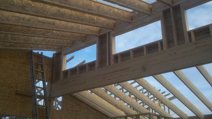 21 best clearstory images on pinterest clerestory for Clerestory roof truss design