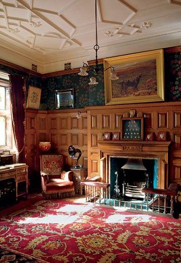 Kinloch Castle The Billiard Room Architectural Digest