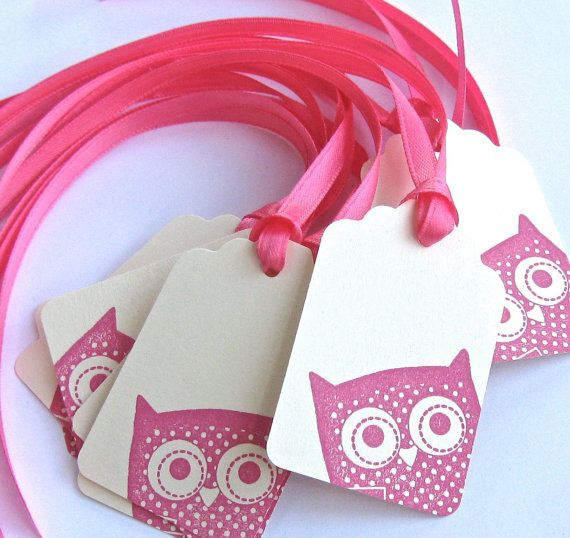 Packaging inspiration: Stamped Peeking Owl Gift Tags