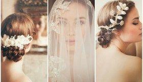 2015 Vintage Wedding Hair Accessories by Jannie Baltzer {Sandra Åberg Photography}