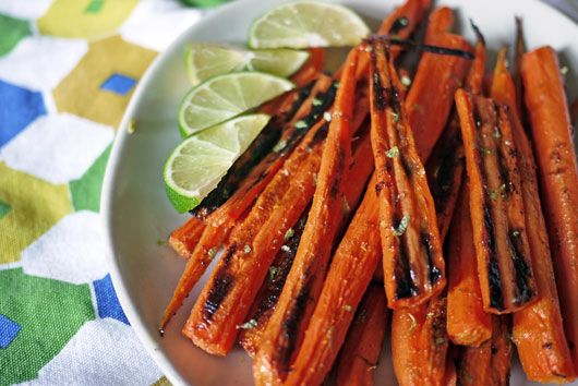Cumin Lime Roasted Carrots by onehungrymama: Pure, Health Food, Babies, Side Dishes, Limes Onehungrymama, Carrots Limes, Cumin Limes Roasted Carrots, Baby Carrots, Limes Recipes