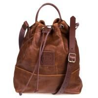 FREEDOM OF MOVEMENTS THE MARLEY LEATHER BAG IN PECAN