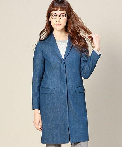 デニムコートで個性を出して♡冬のファッションアイテム デニムコート コーデを集めました♪