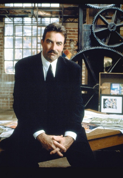 Tom Selleck: Like fine wine, gets better with age. amd