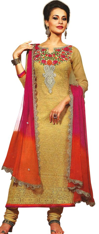 Hand Crafted from the finest fabric and perfected by exquisite craftsmen are the Straight Designer Suits presented by Dulhan-e-Begum.  http://www.dulhan-e-begum.com/blog/straight-suits/straight-suit-with-dupatta-at-dulhan-e-begum/