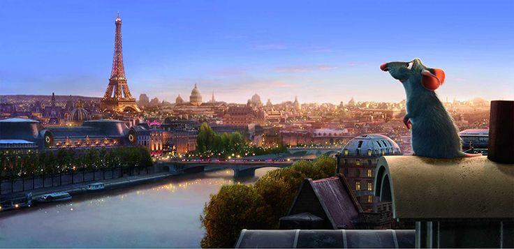 Filmes sobre Paris: Ratatouille