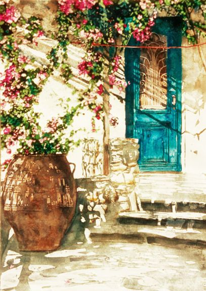 .The Doors, Secret Gardens, Blue Doors, Heart Singing, Future House, Turquoise Doors, Front Doors, Beautiful Doors, Hanging Gardens
