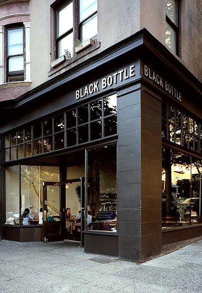 Facade inspo for an office redesign - Black Bottle Coffee shop
