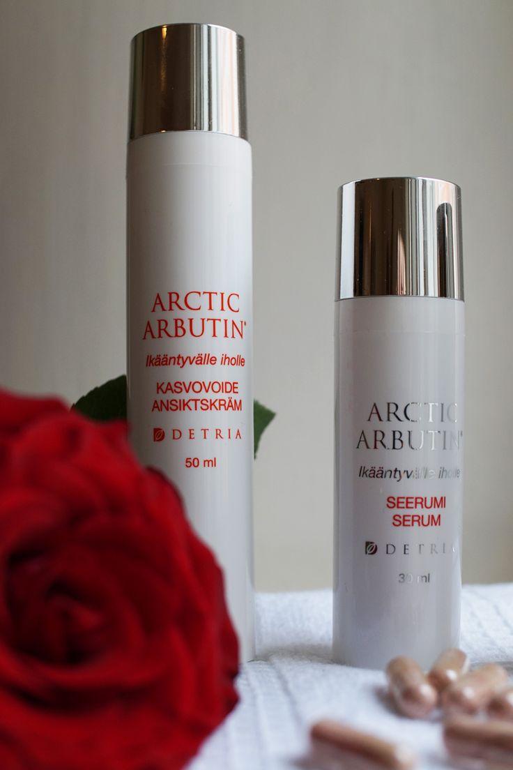 Arctic Arbutin käyttäjän blogikirjoitus.