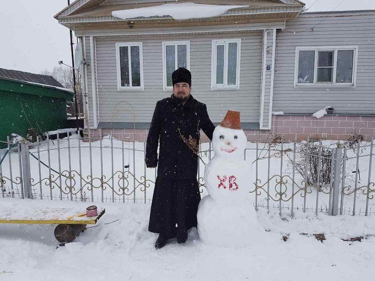 ХРИСТОС ВОСКРЕСЕ!!! ХРИСТОС ВОСКРЕСЕ!!! ХРИСТОС ВОСКРЕСЕ!!! С Пасхальным Снеговиком!