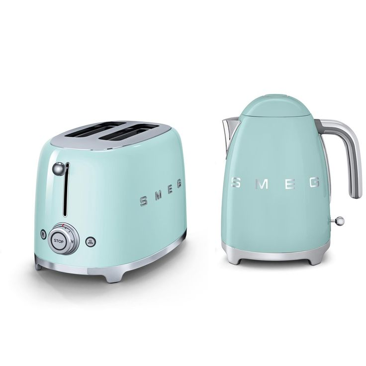 Introduce blushed accents to your kitchen worktops and redefine your cooking space with pastel coloured appliances from Smeg