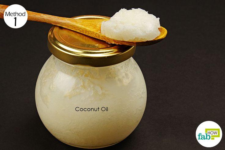 coconut oil to treat cavities