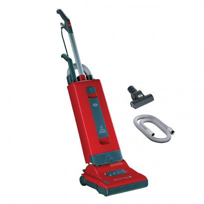 SEBO Automatic X4 Pet 9559AM Red Upright Vacuum: To SEBO, design is something more than superficial styling. SEBO vacuum cleaners are built to work. Professional users prefer SEBO worldwide. With good reason! Our success is due to our innovative products and our strong focus on quality. Modern technology, state-of-the-art design, and consistent customer focus are found in all SEBO products. They are easy to maintain and simple to use.