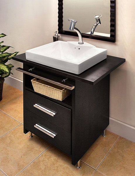 Modern Bathroom Vanity   Really Like This, Maybe It Would Work With The  Basin We